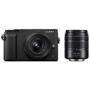 PANASONIC LUMIX GX85 4K Digital Camera, 12-32mm and 45-150mm Lens Bundle, 16 Megapixel Mirrorless Camera Kit, 5 Axis In-Body Dual Image Stabilization for Sale in Huntington Beach, CA