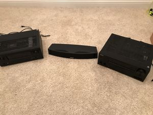 BOSE SURROUND SOUND SYSTEM WITH SUBWOOFERS for Sale in Fresno, CA