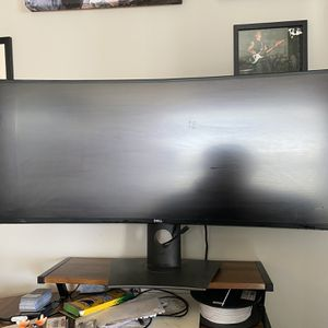 Dell 38in Curved Monitor U3818DW for Sale in Denver, CO