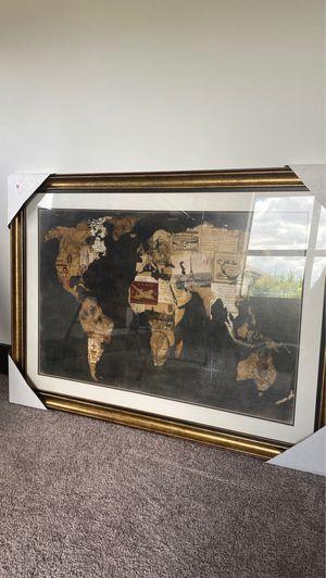 Frames World Map Art for Sale in Miami, FL