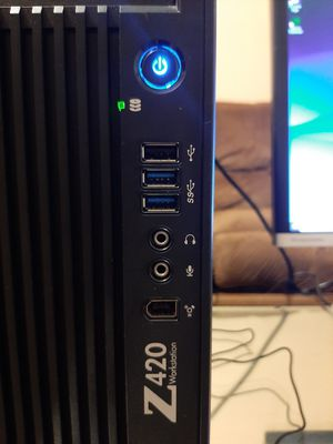 POWERFUL HP Z420 UPGRADED TO GAMING LABEL for Sale in Miami Gardens, FL