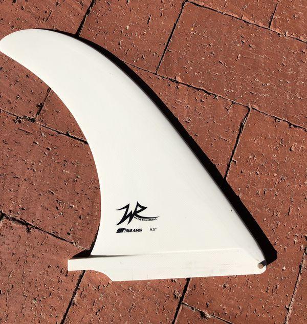 "True Ames Wayne Rich Power Surfboard Center Fin 9.5"""