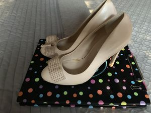 Pale Pink -Dune Leather Heels for Sale in Chantilly, VA