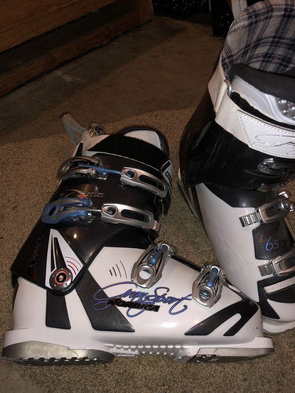 Ladies Ski Boots Size 26 Nordica Gran Sport For Sale In