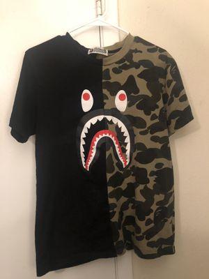 Bape half camo shirt for Sale in Grapevine, TX