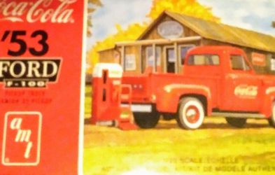 amt Coca Cola '53 Ford F-150 Model for Sale in Dana Point,  CA