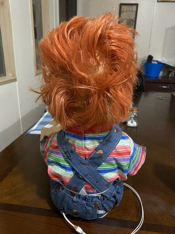 Chucky Doll in New Condition except Electric not working to good