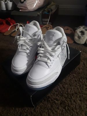 Air Jordan 3 Retro Triple White|Sz.10 for Sale in Las Vegas, NV