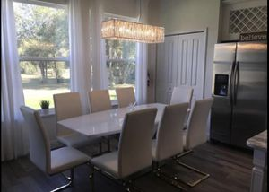 Dining table, 8 chairs for Sale in Kissimmee, FL
