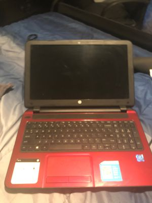 Laptop HP RED for Sale in Port St. Lucie, FL