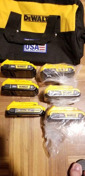Dewalt Battery 2.0Ah 20V $30 Each for Sale in Norwalk, CA