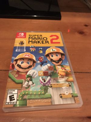 Super Mario Maker 2 for the Nintendo Switch for Sale in Miami, FL