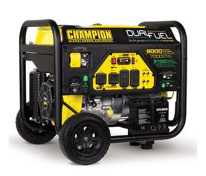 New Champion 9000/7000 Watt Dual Fuel Generator for Sale in Port St. Lucie, FL