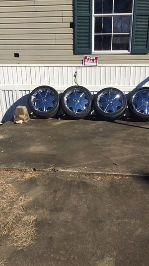 20 inch rims best offer for Sale in Eudora, AR