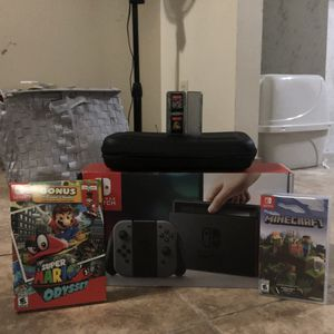 Nintendo Switch Bundle for Sale in Tucson, AZ