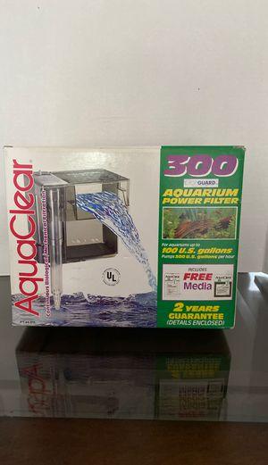 Aqua Clear 300 Aquarium Power Filter for Sale in Toms River, NJ