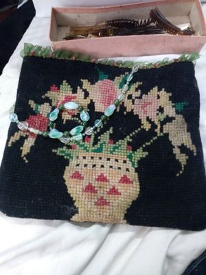 Needle point bag for Sale in Austin, TX