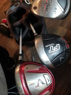 Ping Golf Bag With 3 Clubs for Sale in Oklahoma City,  OK