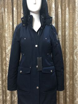 Authentic Moose Knuckle Parka Jacket Like New for Sale in Queens,  NY