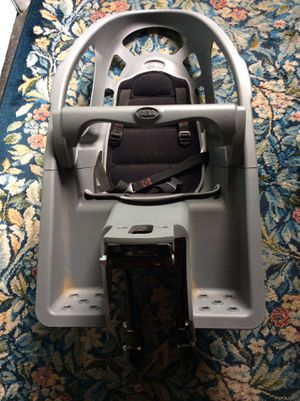 Bell child bike seat-note:has just the belt that goes around your waist-comment only when ready to see or buying thanks for Sale in Chesapeake, VA