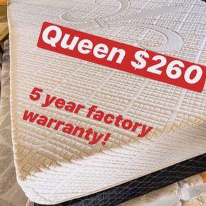 💥Brand new Blue Gel Memory Foam Mattress💥 Queen Mattress only-$260 Mattress & box spring-$320 Full Mattress only-$235 Mattress & box spring-$29 for Sale in Claremont, CA