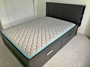 Queen bed with mattress for Sale in Lakewood Township, NJ