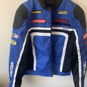 Motorcycle Jacket Size L, Helmet Size XXL, Gloves Size XXL for Sale in Arlington, VA