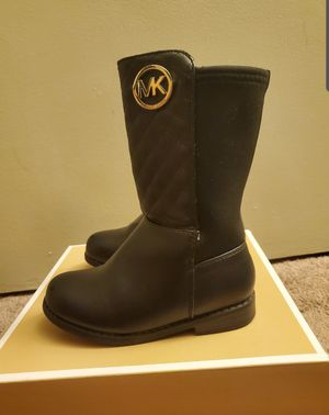 Michael Kors Toddler Girls Quilted Boots for Sale in La Grange Park, IL