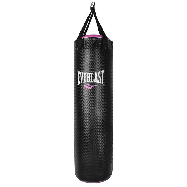 Everlast CardioBlast 40 Pound Punching Speed Strike Heavy Bag, Black and Pink