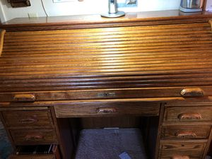 Oak Roll Top Desk for Sale in Beaumont, CA
