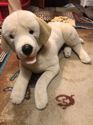E and j classic prima collection kids plush or stuffed animal lab retriever dog for Sale in Coral Springs, FL