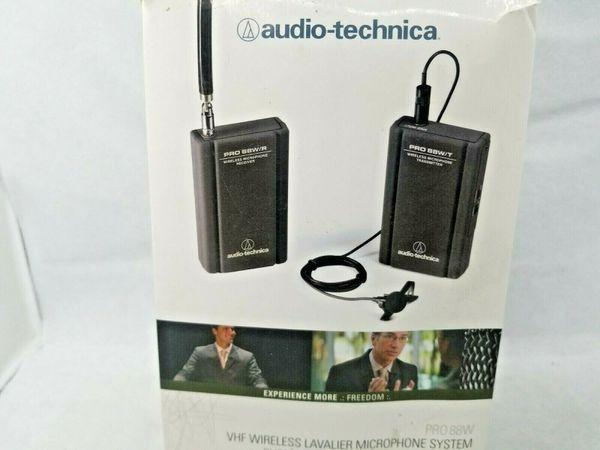 Audio-Technica PRO 88W Wireless Omnidirectional Clip-on Microphone W88-68-830
