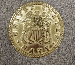 Solid Brass Untied States Navy By Virginia Metalcrafters for Sale in Greensboro, NC