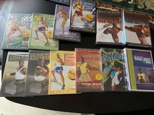 Billy Blanks 12-DVD Workout for Sale in Cedar Park, TX