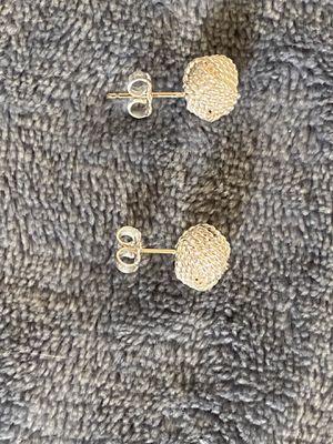 Tiffany&co Sterling silver knot earrings for Sale in Wyandotte, MI