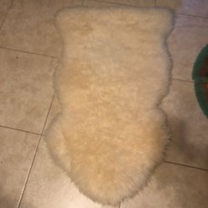 Sheep skin throw for Sale in Hollywood, FL