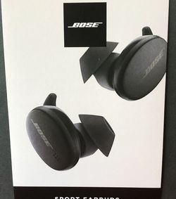 Bose Sport Earbuds - True Wireless Earphones - Bluetooth In Ear Headphones for Workouts and Running, Triple Black for Sale in Carson,  CA