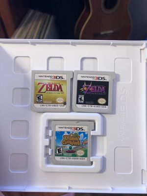3 NINTENDO 3DS GAMES FOR $30 for Sale in Las Vegas, NV