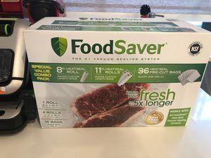 Food saver vacuum sealer system for Sale in Plantation, FL