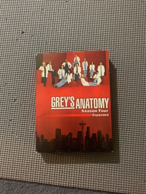 Greys Anatomy season 4 expanded edition DVD for Sale in Spring Valley, CA
