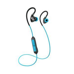 JLab Audio - Fit Sport Fitness Earbuds Wireless In-Ear Headphones - Black/Blue for Sale in Elverta, CA