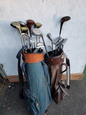Golf clubs and bags for Sale in Milford, CT