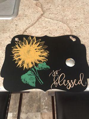 Handmade metal sign for Sale in Colorado Springs, CO