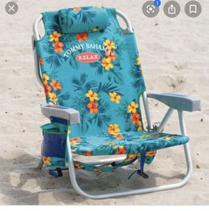 Tommy Bahamas backpack beach chair for Sale in Torrance, CA