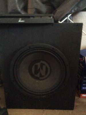 """Memphis audio 12"""" and box $100 for Sale in Durham, NC"""