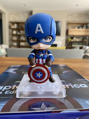 Good Smile Company Nendoroid 618 Captain America Hero's Edition for Sale in Temecula, CA