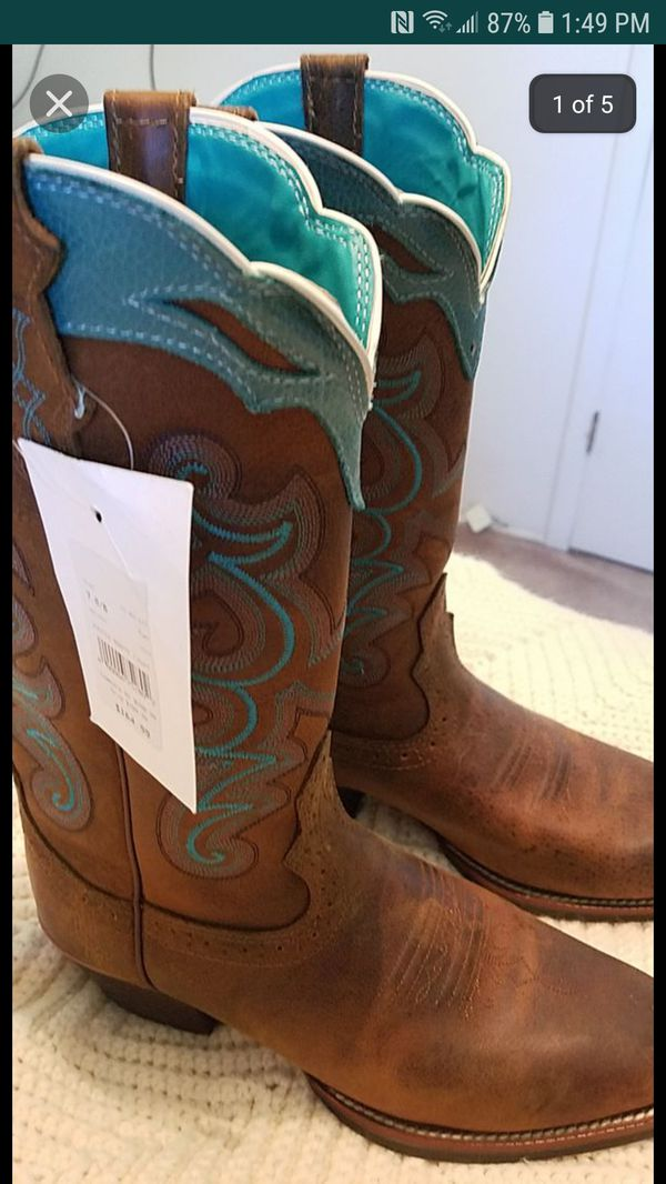 Justin Boots (Brand New)