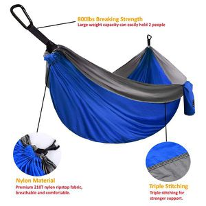 FIRM PRICE! Brand New Double Camping Hammock, Located in North Park for Pick Up or Shipping Only! for Sale in San Diego, CA