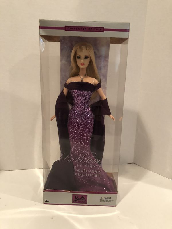 barbie birthstone February amethyst