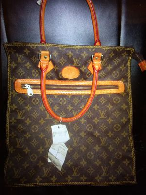 Louis Vuitton vintage tote French luggage company authentic rare LV for Sale in San Jose, CA